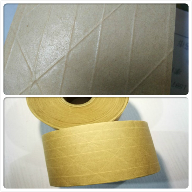 mat surface and smooth surface kraft paper tape