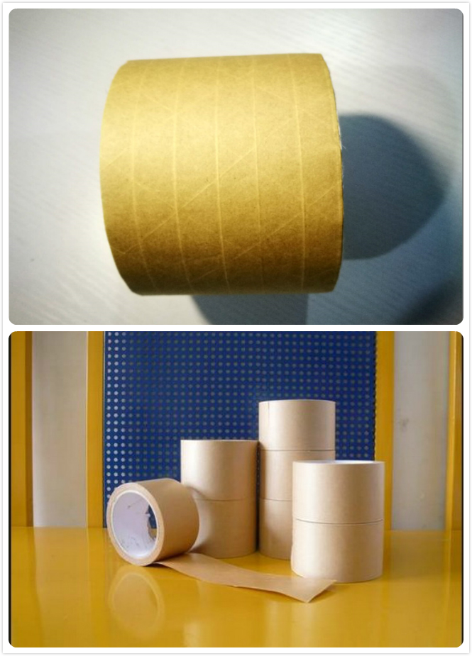 water activated kraft paper tape and self adhesive tape